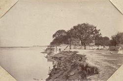 Suttee Chouree Ghat. Scene of the Massacre, Cawnpore